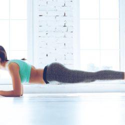 Millennials doing plank