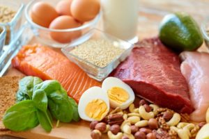 proteins rich food