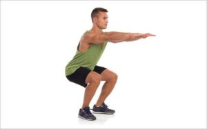 Squat To Overhead Press