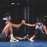 couple-training-gym-Exercise-for-Sobriety