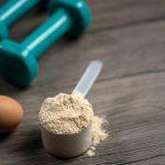 whey protein scoop